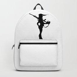 Cameron Archer Black Logo Backpack