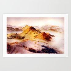 Vorarlberg in Austria Art Print