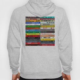 Old School 80's and 90's Hip Hop tapes Drawing #49 - 714. Hoody