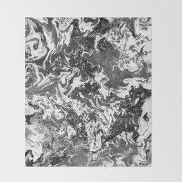 Suminagashi Series (Jing) 精 Throw Blanket