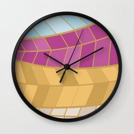 GOLDMOSAIC2 Wall Clock