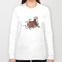 bands Long Sleeve T-shirts featuring octopus sport bands by illusign
