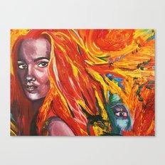 Mischievous vengeance  Canvas Print