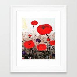 For The Fallen Framed Art Print