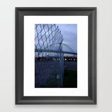 Fremont Fence Framed Art Print