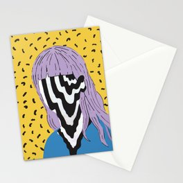 Trippy Girl Stationery Cards