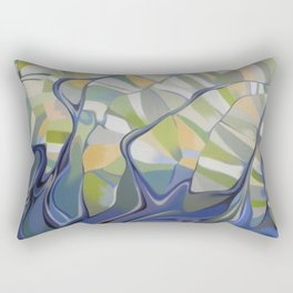 The earth seen from the space Rectangular Pillow