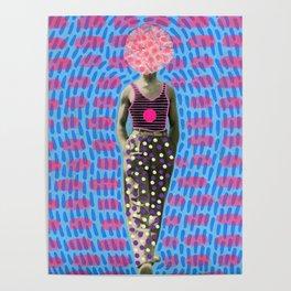 Walking Dot Poster
