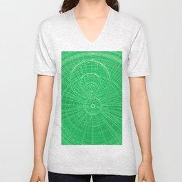 Circle Art  Unisex V-Neck