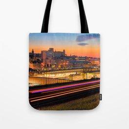 Sheffield at Night Tote Bag