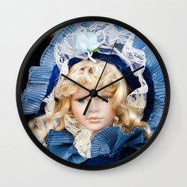 porcelain doll Wall Clock