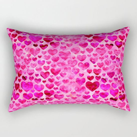 Heart Pattern 07 Rectangular Pillow