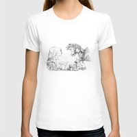 mushrooms T-shirts featuring Mushrooms by Alexandra Duma D.