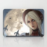 plain iPad Cases featuring PLAIN DOLL by mad-maddie