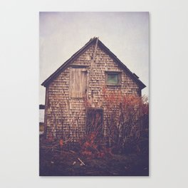 She Created Stories About Abandoned Houses Canvas Print