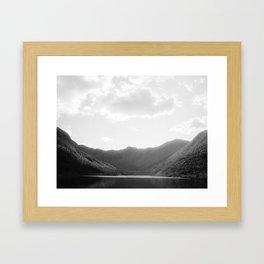 Lac aux Américains Framed Art Print