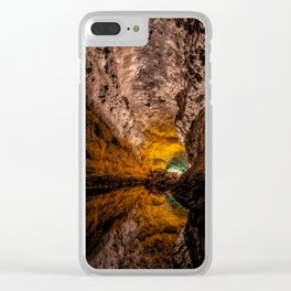 Caves - Mirror Mirror Clear iPhone Case