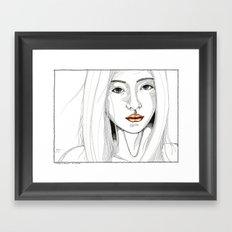 Ignored & immune Framed Art Print