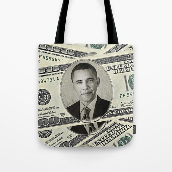 Mr President's Green Tote Bag