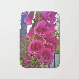 Lovely Pink Flowers 2 Bath Mat