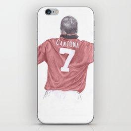 Eric Cantona iPhone Skin