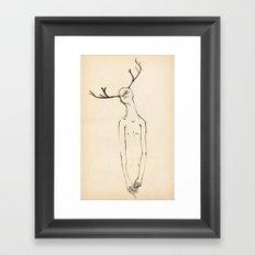 Finger Fumbler Framed Art Print