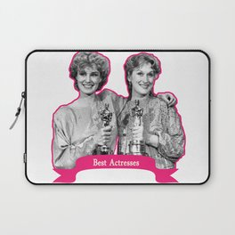 Jessica Lange and Meryl Streep Laptop Sleeve