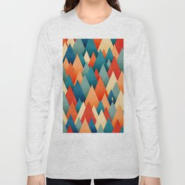 070 – deep into the autumn forest texture I Long Sleeve T-shirt