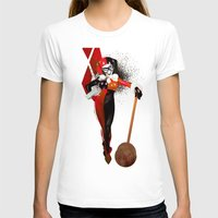 harley quinn T-shirts featuring Harley Quinn by nachodraws