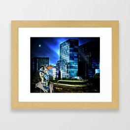 Nameless Framed Art Print
