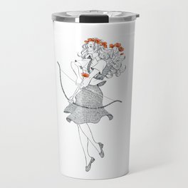 The Poppy (April 20 - May 20) Travel Mug
