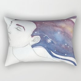 Follicular Galaxy Rectangular Pillow