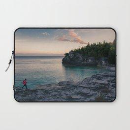 Sunrise at Bruce Peninsula National Park Laptop Sleeve