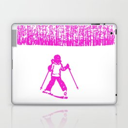 Little Skier II Laptop & iPad Skin