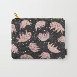 Tardigrades in Space Carry-All Pouch