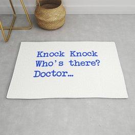 Knock-Knock 4 Rug