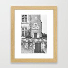 Chateau Chenonceau Framed Art Print