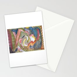 The Caterpillar - by SHUA artist Stationery Cards