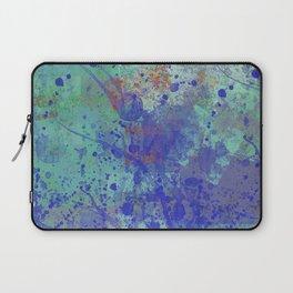 Paint Splatter Abstract Laptop Sleeve