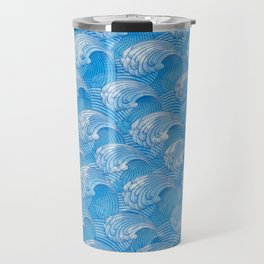 Waves - fluctuation Travel Mug