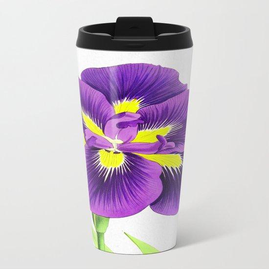 Violet Metal Travel Mug
