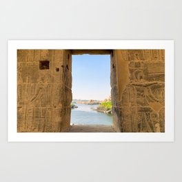 Egypt - Philae Temple Art Print