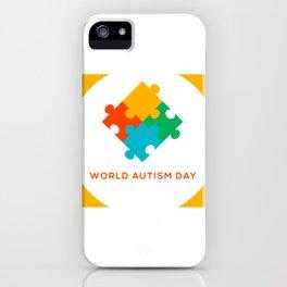 Child Health Day (Autism) iPhone Case