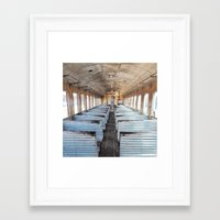 train Framed Art Prints featuring Train by create.mojo