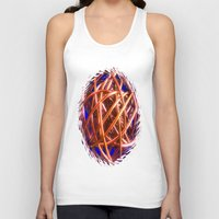 the wire Tank Tops featuring Wire Ball by Brian Raggatt