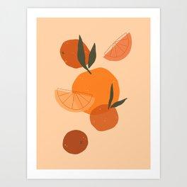Citrus Love Art Print