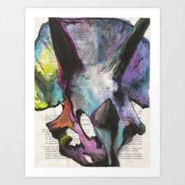 Tops Art Print