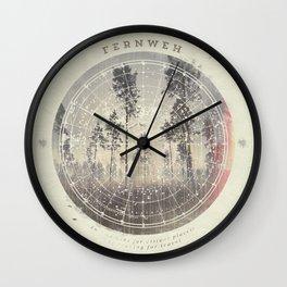Fernweh Vol 4 Wall Clock