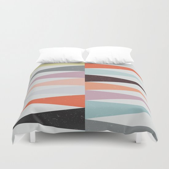 Colorful Peaks Duvet Cover