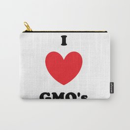 I Love GMO's Carry-All Pouch
